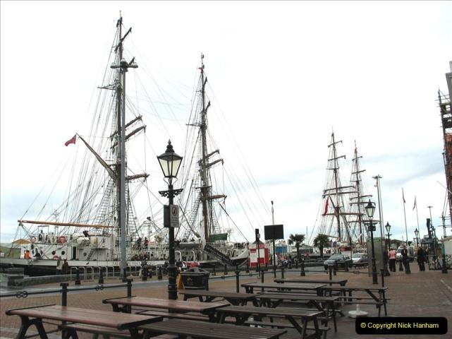 Retrospective Poole St. James & Tall ships. (41)