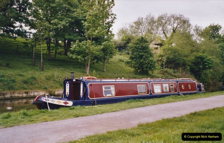 2005 Miscellaneous. (56) Your Host helps out on a narrow boat on the Kennet & Avon Canal.