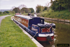 2005 Miscellaneous. (57) Your Host helps out on a narrow boat on the Kennet & Avon Canal.