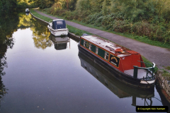 Retrospective 2005 October - Small Narrow Boat on the K and A Canal