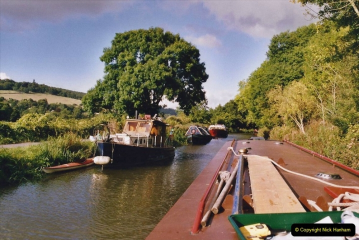 2005 October - A small narrow boat on the Kennet & Avon Canal - Trowbridge to Bath and back to Trowbridge. (11) 11