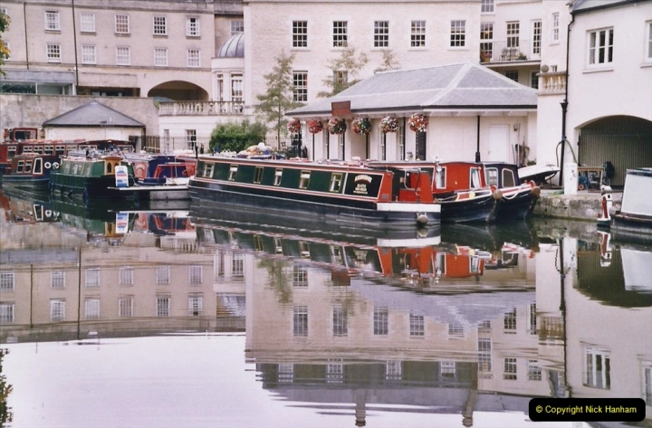 2005 October - A small narrow boat on the Kennet & Avon Canal - Trowbridge to Bath and back to Trowbridge. (28) 28