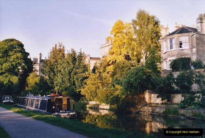 2005 October - A small narrow boat on the Kennet & Avon Canal - Trowbridge to Bath and back to Trowbridge. (36) 36