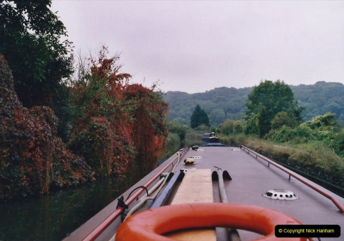 2005 October - A small narrow boat on the Kennet & Avon Canal - Trowbridge to Bath and back to Trowbridge. (39) 39