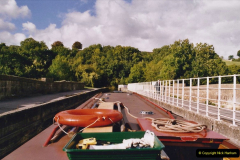 2005 October - A small narrow boat on the Kennet & Avon Canal - Trowbridge to Bath and back to Trowbridge. (10) 10