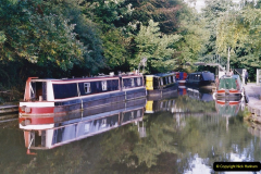 2005 October - A small narrow boat on the Kennet & Avon Canal - Trowbridge to Bath and back to Trowbridge. (12) 12