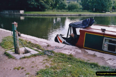 2005 October - A small narrow boat on the Kennet & Avon Canal - Trowbridge to Bath and back to Trowbridge. (15) 15