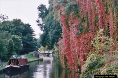 2005 October - A small narrow boat on the Kennet & Avon Canal - Trowbridge to Bath and back to Trowbridge. (16) 16