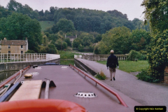 2005 October - A small narrow boat on the Kennet & Avon Canal - Trowbridge to Bath and back to Trowbridge. (40) 40
