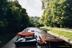 2005 October - A small narrow boat on the Kennet & Avon Canal - Trowbridge to Bath and back to Trowbridge. (7) 07