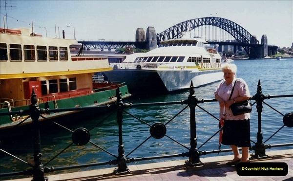 Retrospective Australia Sydney & Ayers Rock (Uluru) February 1996 with your Host & late Mother.   (116) 116