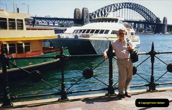 Retrospective Australia Sydney & Ayers Rock (Uluru) February 1996 with your Host & late Mother.   (117) 117