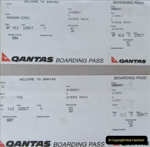Retrospective Australia Sydney & Ayers Rock (Uluru) February 1996 with your Host & late Mother.   (222) 222