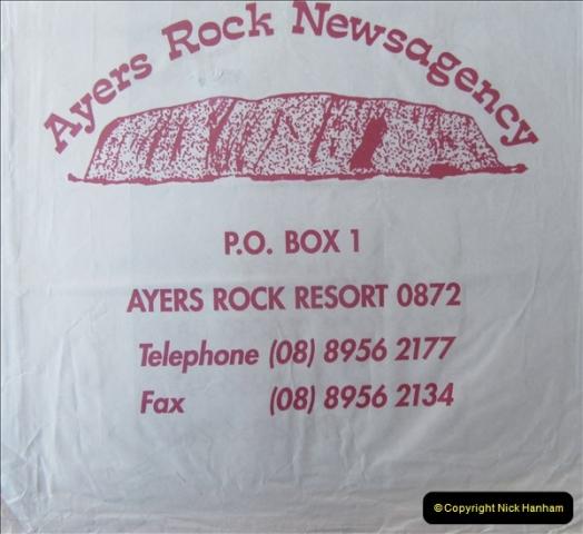 Retrospective Australia Sydney & Ayers Rock (Uluru) February 1996 with your Host & late Mother.   (239) 239