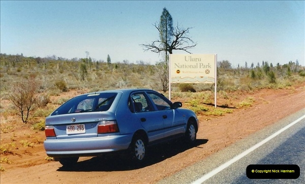 Retrospective Australia Sydney & Ayers Rock (Uluru) February 1996 with your Host & late Mother.   (244) 244
