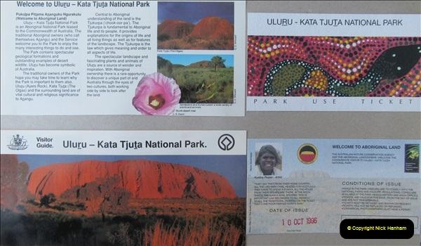 Retrospective Australia Sydney & Ayers Rock (Uluru) February 1996 with your Host & late Mother.   (248) 248