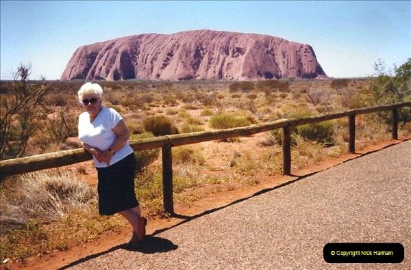 Retrospective Australia Sydney & Ayers Rock (Uluru) February 1996 with your Host & late Mother.   (252) 252