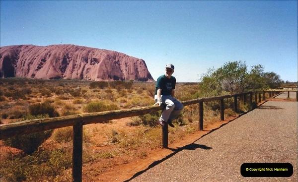 Retrospective Australia Sydney & Ayers Rock (Uluru) February 1996 with your Host & late Mother.   (253) 253