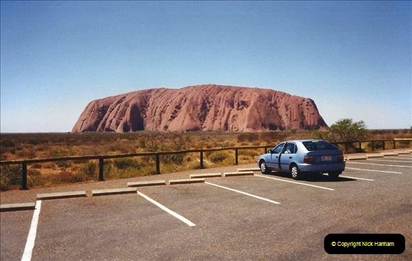 Retrospective Australia Sydney & Ayers Rock (Uluru) February 1996 with your Host & late Mother.   (254) 254