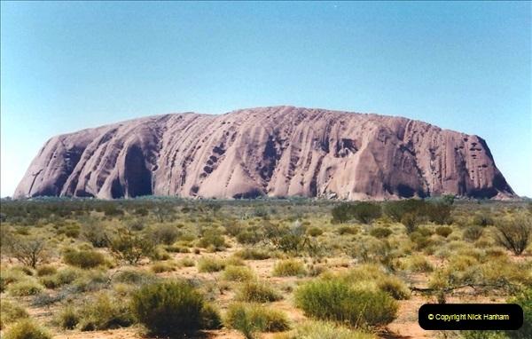 Retrospective Australia Sydney & Ayers Rock (Uluru) February 1996 with your Host & late Mother.   (256) 256