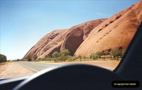 Retrospective Australia Sydney & Ayers Rock (Uluru) February 1996 with your Host & late Mother.   (260) 260