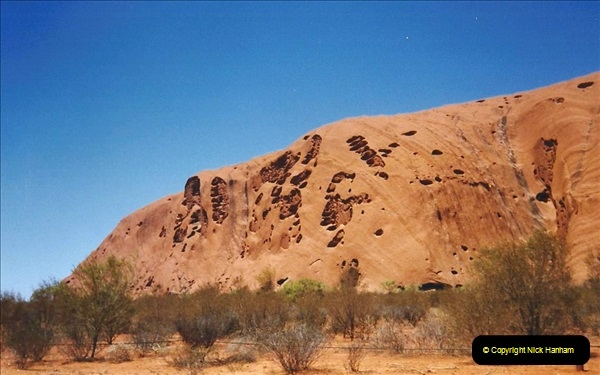 Retrospective Australia Sydney & Ayers Rock (Uluru) February 1996 with your Host & late Mother.   (264) 264
