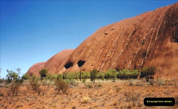 Retrospective Australia Sydney & Ayers Rock (Uluru) February 1996 with your Host & late Mother.   (265) 265