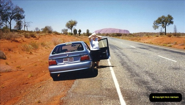 Retrospective Australia Sydney & Ayers Rock (Uluru) February 1996 with your Host & late Mother.   (276) 276