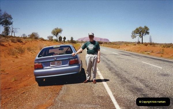 Retrospective Australia Sydney & Ayers Rock (Uluru) February 1996 with your Host & late Mother.   (279) 279