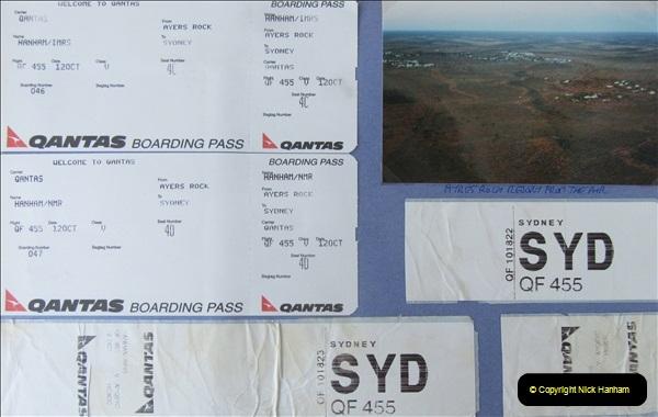 Retrospective Australia Sydney & Ayers Rock (Uluru) February 1996 with your Host & late Mother.   (301) 301
