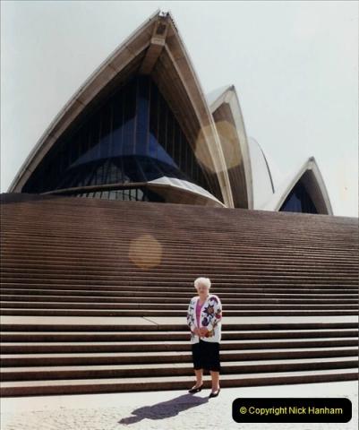 Retrospective Australia Sydney & Ayers Rock (Uluru) February 1996 with your Host & late Mother.   (74) 074