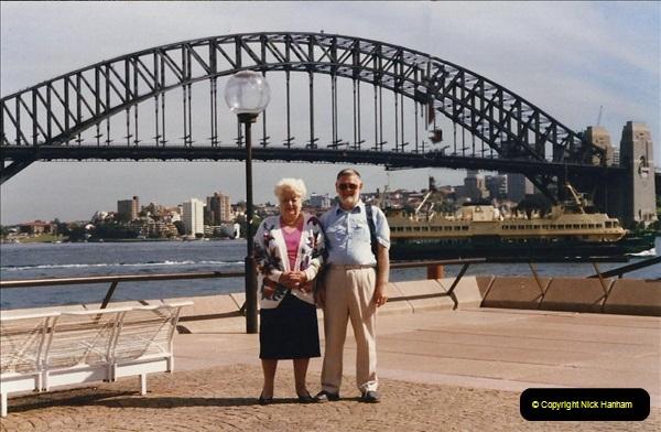 Retrospective Australia Sydney & Ayers Rock (Uluru) February 1996 with your Host & late Mother.   (87) 087