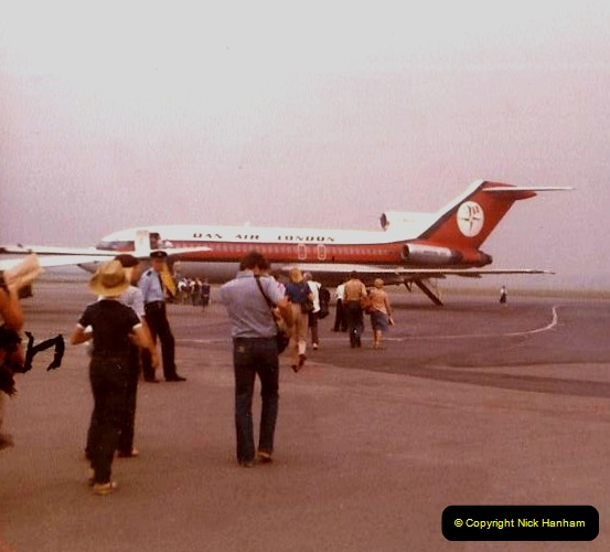1980 Retrospective Corfu. (1) Dan Air Bournemouth to Corfu. 01