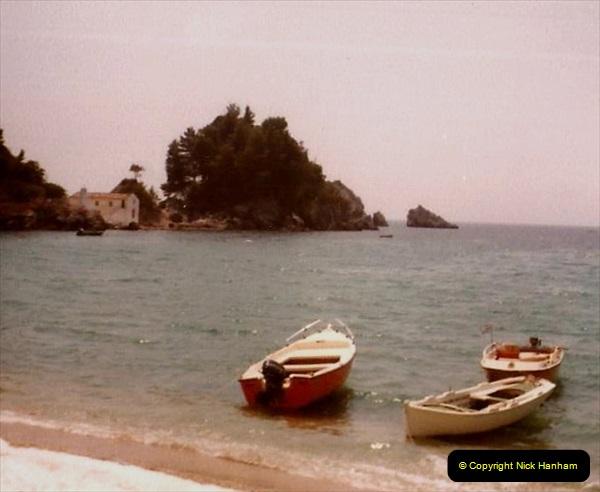 1980 Retrospective Corfu. (55) Ladochori and Lgoumenitsa. 55