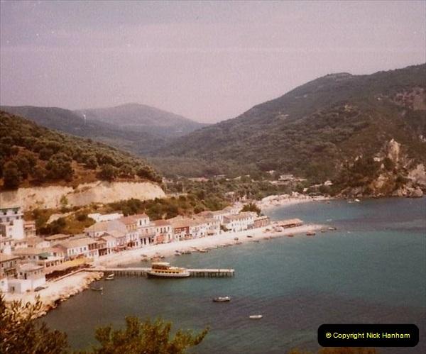 1980 Retrospective Corfu. (56) Ladochori and Lgoumenitsa. 56