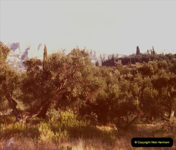 1980 Retrospective Corfu. (35) Round and about Corfu. 35