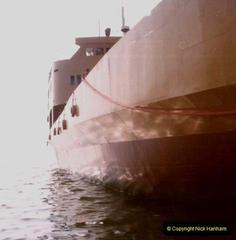 1980 Retrospective Corfu. (58) Return ship to Corfu.58