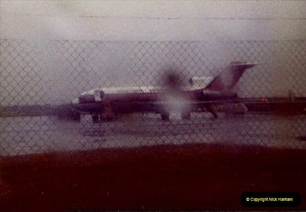 1980 Retrospective Corfu. (68) A very wet return to Bournemouth. 68