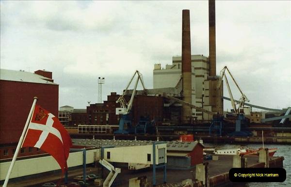 Denmark July 1983. (45) Esbergeg, Denmark to Harwich. 45
