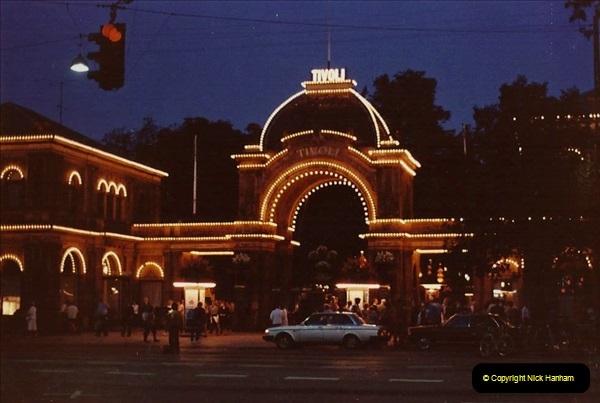 Denmark July 1983. (35) Tivoli. 35
