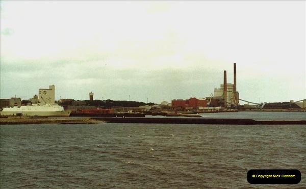 Denmark July 1983. (46) Esbergeg, Denmark to Harwich. 46
