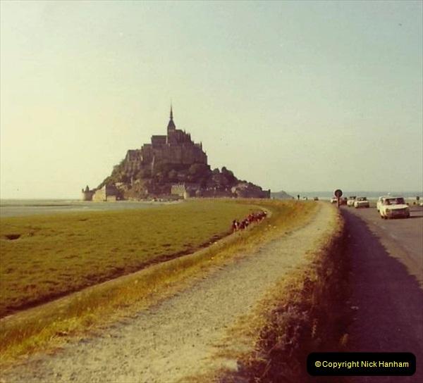 1972 Retrospective France West and North West.  (45) Mont St. Michel. 45