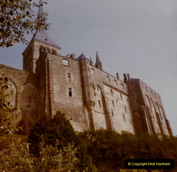 1972 Retrospective France West and North West.  (49) Mont St. Michel. 49