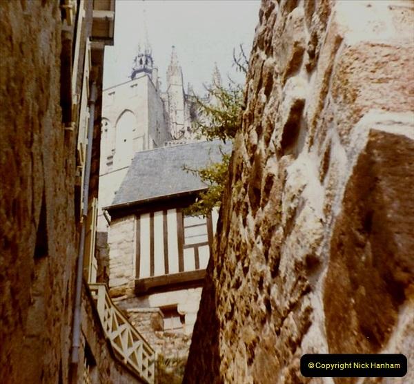1972 Retrospective France West and North West.  (50) Mont St. Michel. 50