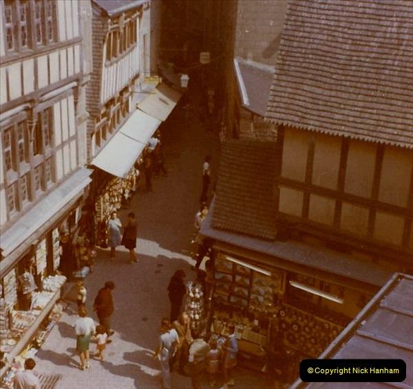 1972 Retrospective France West and North West.  (54) Mont St. Michel. 54