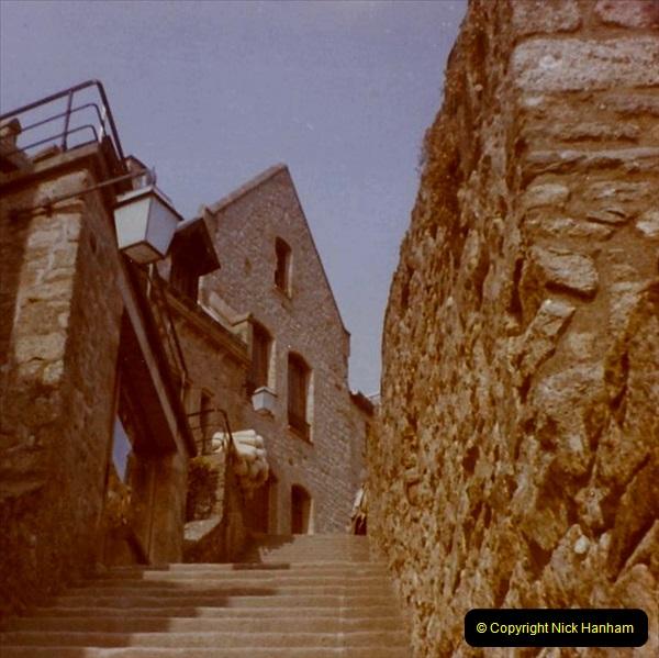 1972 Retrospective France West and North West.  (57) Mont St. Michel. 57