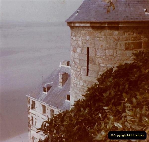 1972 Retrospective France West and North West.  (58) Mont St. Michel. 58