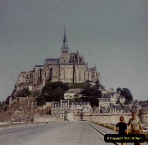 1972 Retrospective France West and North West.  (46) Mont St. Michel. 46