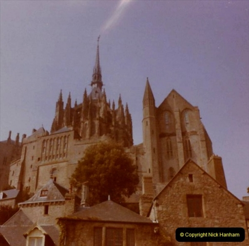 1972 Retrospective France West and North West.  (47) Mont St. Michel. 47
