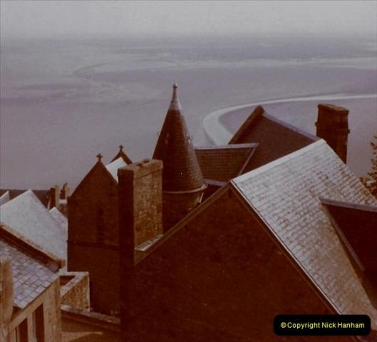 1972 Retrospective France West and North West.  (51) Mont St. Michel. 51